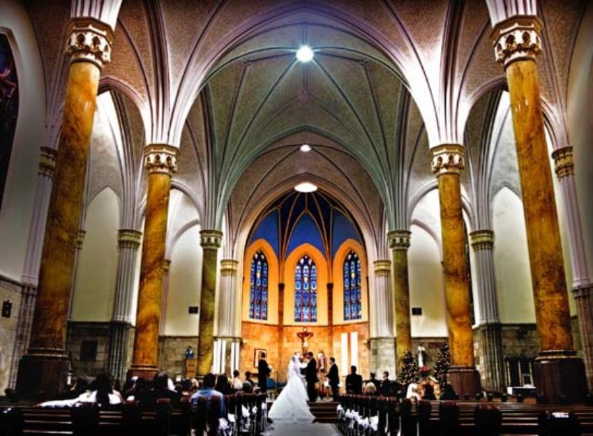 Weddings At Saint Mary